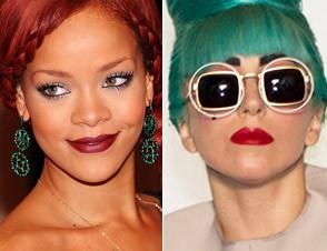 Lady Gaga et Rihanna
