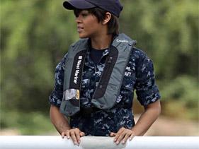 Rihanna dans le film battleship